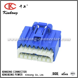 7283-5535-90 16 hole female electrical connectors