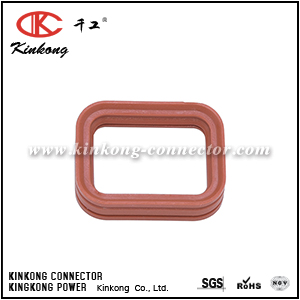 1010-079-0206 2 hole rubber seal for DTP06-2S CKKP002-05-SEAL