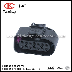 4H0 973 717 14 pole female Transmission data logger diagnostic interface connector CKK7145T-1.5-21