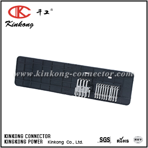 1813411-4 26 pin blade crimp connector
