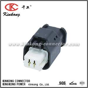 1801175-7 2 hole receptacle HP series connector