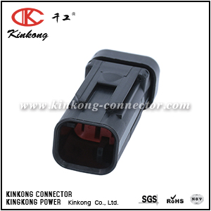 776534-1 2 pin automotive blade wire car connector for CAT Excavator CKK3025RD-1.5-11