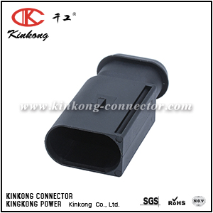 2 pin male waterproof cable connectors CKK7027P-3.5-11