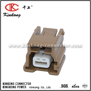 2 hole female automotive electric connectors CKK7021D-0.6-21