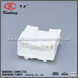 6098-3901 18 pin blade Hybrid electric connector CKK5181W-0.6-2.2-11