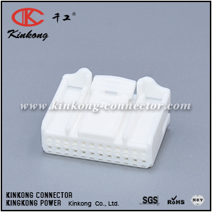 1318917-1 90980-12200 24 ways female Connector for audio navigation reversing rearview mirror CKK5241W-0.7-21