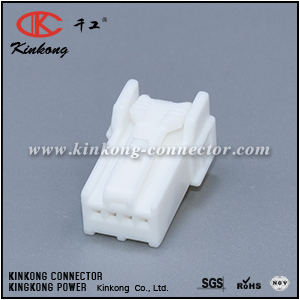 6098-1120 4 hole female automobile connector CKK5043W-0.7-21