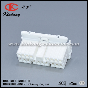 173853-1 13616290 18 pole female wiring connector CKK5182W-1.8-21