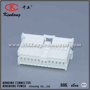 1123387-1 MG653033 24 pole female Connector Discrete Wire Housing CKK5241W-1.0-21
