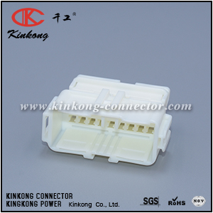 6098-4660 14 pin male HE series wiring connector