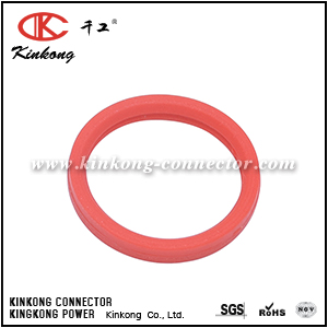 leather collar for 4 pin electric connector CKK004-02-SEAL