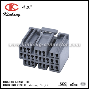 25 hole female OBD2 ECU Plug B