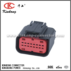 1438031-1 16 hole female wire connector CKK7161-0.7-21