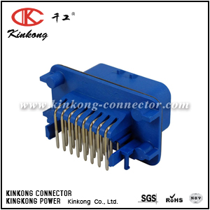 1-776087-5 23 pin male crimp connector CKK7233LAG-1.5-11