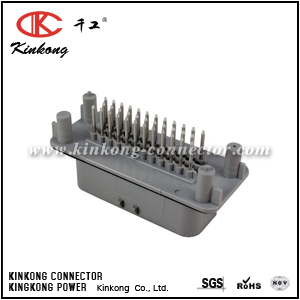 1-776231-4 35 pins male crimp connector CKK7353GSO-1.5-11