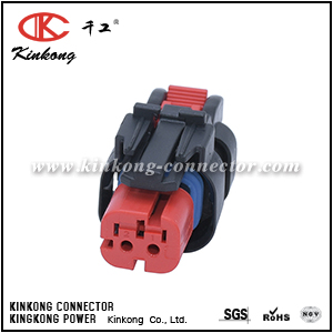 776427-1 2 ways receptacle waterproof car connector for CAT Excavator CKK3025R-1.5-21