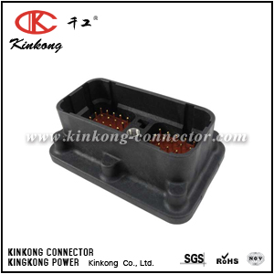 DRC20-50P02 50 pin male cable connector