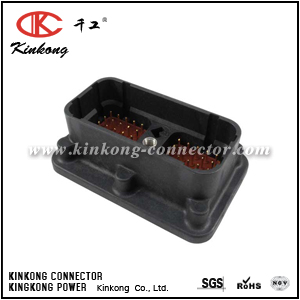 DRC20-50P03 50 pins blade automotive connector