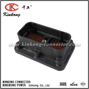 DRC20-50P08 50 pin male electric connector