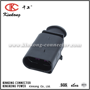 1J0 973 803  3 pin electrical connector for VW Audi   CKK7035B-1.5-11