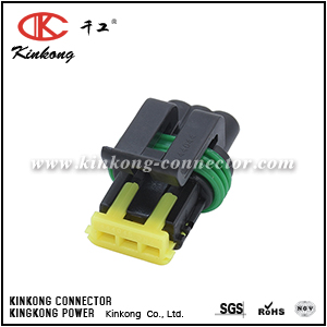3 ways female electrical auto wiring connector  CKK7035-1.2-21