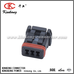 3 ways female electrical wire connectors CKK3031-1.0-21