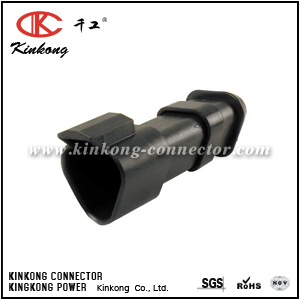 DT04-3P-EE01 3 pin male waterproof electrical connector