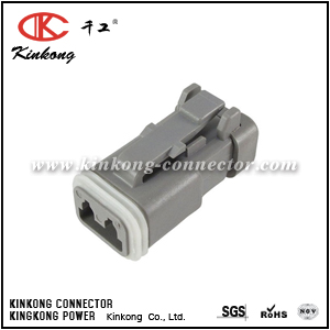 DT06-2S-EF01 2 way female automotive connector