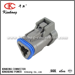 DT06-3S-EF02 3 hole female waterproof wire connector