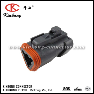 DT06-3S-EP06 3 pole female wire connector