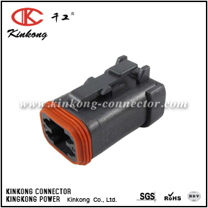 DT06-4S-EP06 4 way female cable connector