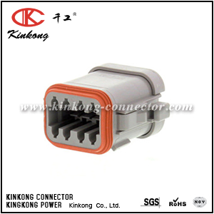 DT06-08SA-EP06 8 way female electrical connector
