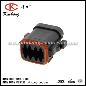 DT06-08SB-EP06 8 way female electrical connector