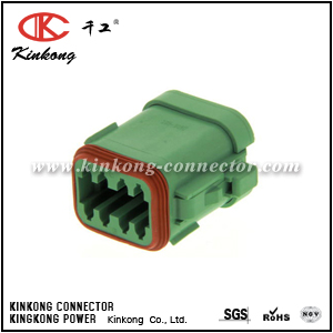 DT06-08SC-EP06 8 pole female automobile connector