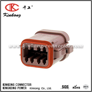 DT06-08SD-EP06 8 way female cable connector