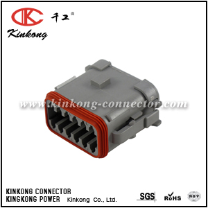 DT06-12SA-EP06 12 pole female wire connector
