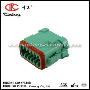 DT06-12SC-EP06 12 pole female waterproof electrical connector
