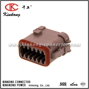 DT06-12SD-EP06 12 ways female electrical connector