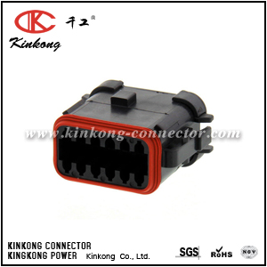 DT06-12SA-EP08 12 ways female automotive connector
