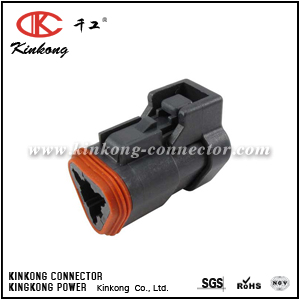 DT06-3S-EP09 3 ways female automotive connector
