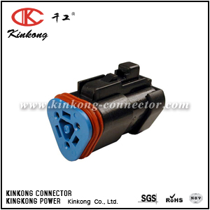 DT06-3S-EP10 3 way female electrical connector