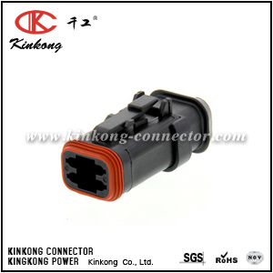 DT06-4S-EP11 4 ways female electric connector