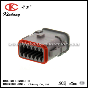 DT06-12SA-EP20 12 way female electrical connector