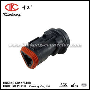 DT06-3S-LC01 3 ways female electric connector