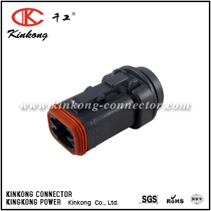 DT06-4S-LC01 4 ways female electric connector