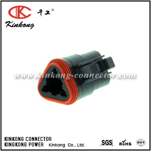 DT06-3S-CE06 3 ways female electrical connector