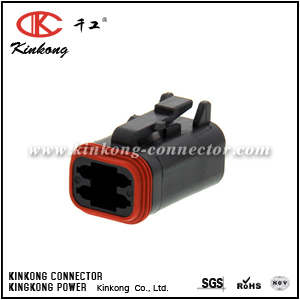 DT06-4S-CE06 4 pole female wire connector