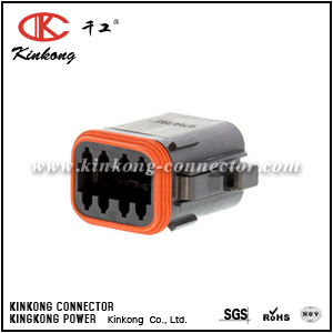 DT06-08SB-CE06 8 hole female waterproof wire connector
