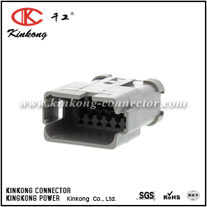 DT04-12PA-CE07 12 pin male automotive connector
