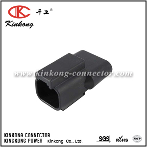 DT04-2P-RT25 2 pin blade waterproof wire connector